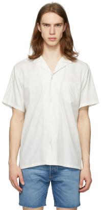Bather Off-White Camp Shirt