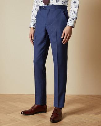 Ted Baker REGDEBT Wool birdseye suit trousers