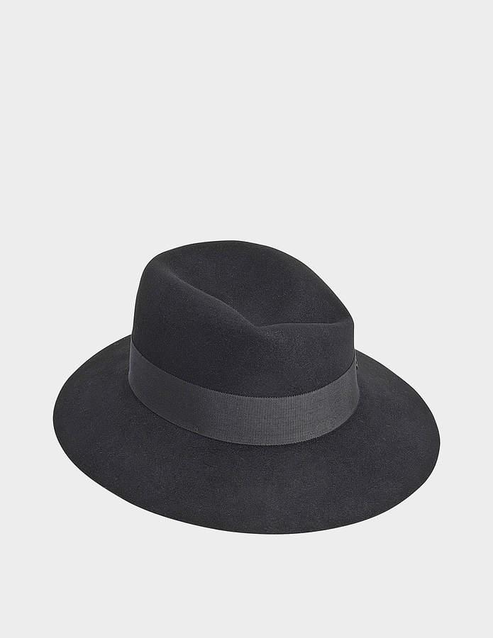 Maison Michel Virginie Structured Form Felt Hat