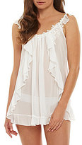 In Bloom by Jonquil Ruffle Front Bridal Babydoll Set