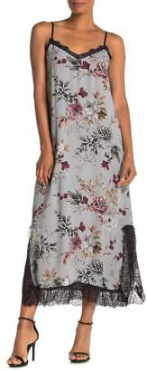 Z&L Europe Floral Lace Slip Dress
