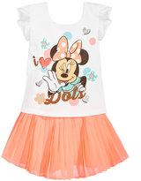 Disney Disney's® 2-Pc. Minnie Mouse Graphic-Print T-Shirt & Skirt Set, Toddler Girls (2T-4T)