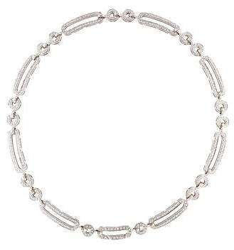 Di Modolo 18K Diamond Tempia Link Collar Necklace