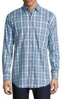 Peter Millar Chateau Plaid Button-Down Shirt
