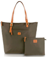 Bric's NEW X-Bag Olive Large Foldable Tote Bag