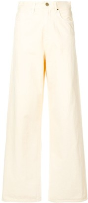 Gold Sign Wide Leg Trousers