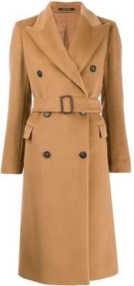 Tagliatore wide lapel double-breasted coat
