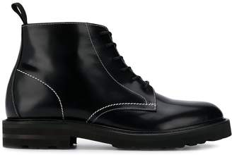 Low Brand lace up combat boots
