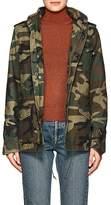 Alpha Industries Women's M-65 Defender Camouflage Cotton Field Jacket
