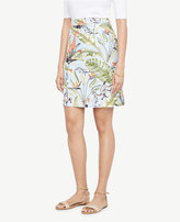 Ann Taylor Tropical Print Skirt