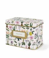 Rifle Paper Co. Floral Recipe Box