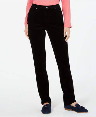 Charter Club Petite Lexington Straight-Leg Corduroy Pants