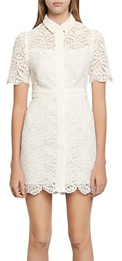 Sandro Live Lace Mini Dress