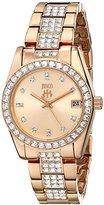 Jivago Women's JV6412 Magnifique Analog Display Quartz Rose Gold Watch