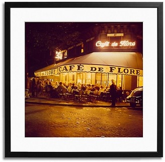 Sonic Editions Cafe de Flore Framed Photo