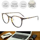EYEYEE Womens Reading Glasses - Round Shape Light Weight Full Rim TR90 AR Coating(+150)
