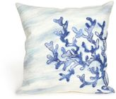 Liora Manné Visions II Water Square Indoor/Outdoor Throw Pillow in Blue