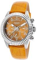 Invicta Women's 18481 Pro Diver Analog Display Swiss Quartz Yellow Watch