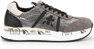 Premiata Side Logo Sneakers