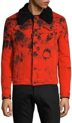 DSQUARED2 Denim Tie-Dye Jacket