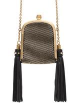kim kardashian  Who made  Kim Kardashians black leather blazer, top, lace up sandals, and gold tassle handbag that she wore in Melbourne?