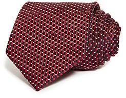 Giorgio Armani Geometric Dash Silk Classic Tie