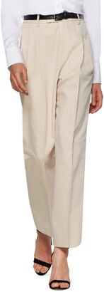 SUISTUDIO Max Cotton Blend Tapered Trousers