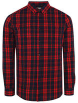 George Red Check Long Sleeve Shirt
