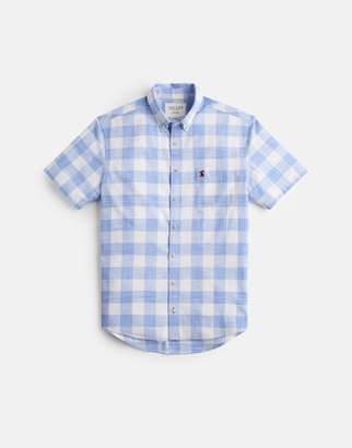 Joules 207505 Short Sleeve Classic Fit Check Shirt