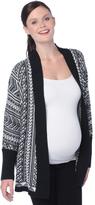 Motherhood Wendy Bellissimo Cocoon Maternity Cardigan