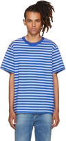 Noon Goons Blue Surfer Stripe T-shirt