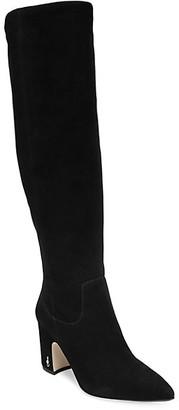 Sam Edelman Hai Knee-High Suede Boots