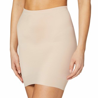 Naomi & Nicole Women's Fond De Jupe Taille Haute Gainant Nude-Luxe Shaping Half Slip S