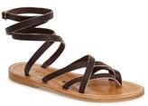 K Jacques St Tropez Women's K.jacques St. Tropez 'Zenobie' Ankle Wrap Sandal
