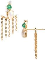 Nadri Women's Fizzy Drop Back Earrings