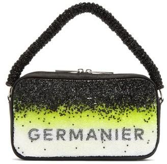 Germanier - Degrade-crystal Logo-print Handbag - Yellow Multi