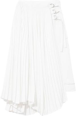Proenza Schouler Pleated Buckle Skirt