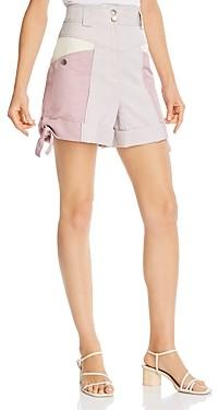 Rebecca Taylor Colorblocked Shorts