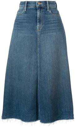 Mother high waisted denim skirt