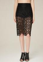 Bebe Brady Lace Skirt