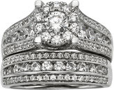 JCPenney MODERN BRIDE 2 CT. T.W. Diamond Bridal Ring Set