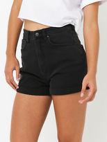 Lee New Womens Stevie Short In Black Shorts Denim Short Shorts