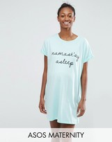 Asos Namast'ay Asleep Sleep Tee