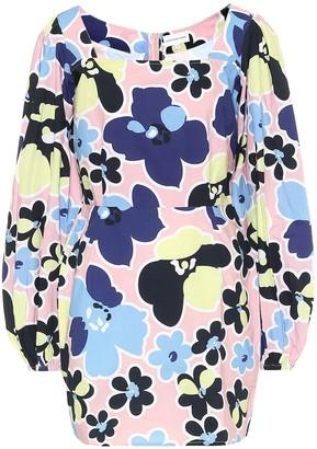 Alexandra Miro Heidi floral cotton minidress