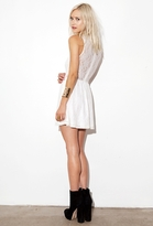 Lulu For Love & Lemons Dress in White