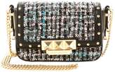 Juicy Couture Trousdale Tweed Lil J Leather Crossbody