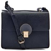 Vivienne Westwood Women's Opio Saffiano Leather Small Shoulder Bag Black
