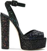 Giuseppe Zanotti Design Betty Bold glitter sandals