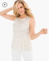 Chico's Embellished Tank