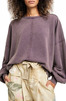 Free People Easy Does It French Terry Pullover